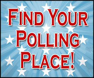 Find Your Polling Place graphic