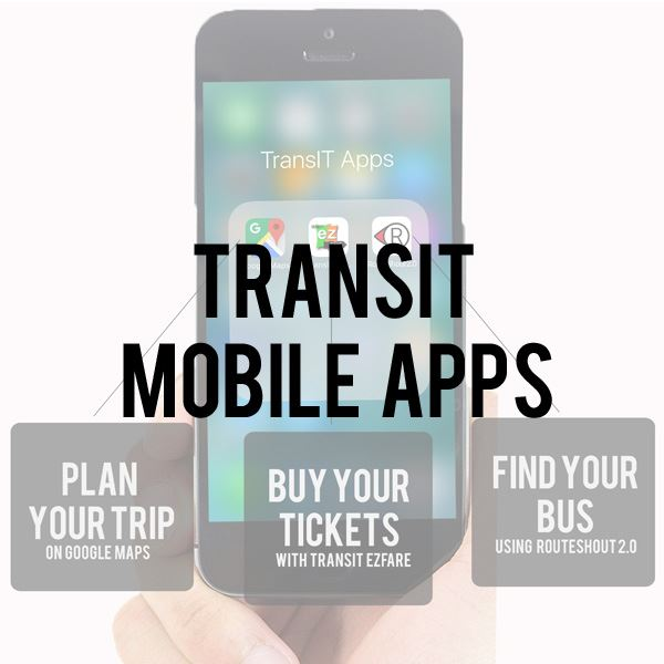 Transit Mobile Apps Page
