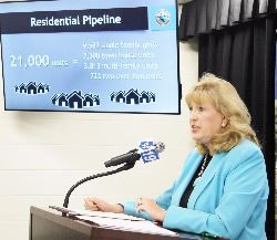 County Executive Jan Gardner - Briefing on Residential Growth
