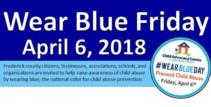 Wear Blue Flyer 2018