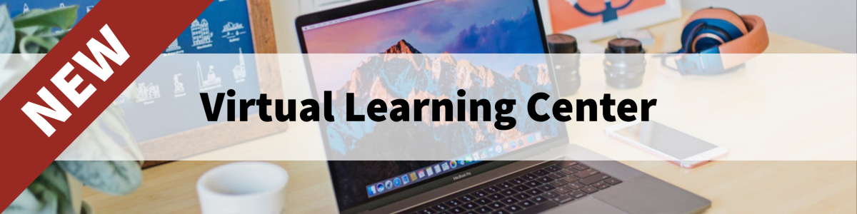 New Virtual Learning Center Banner