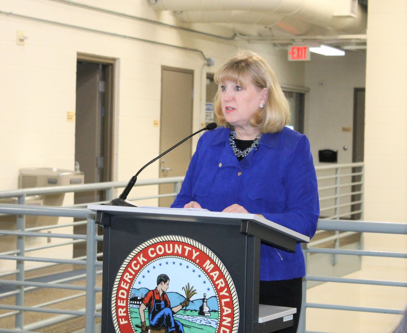 County Executive Jan Gardner