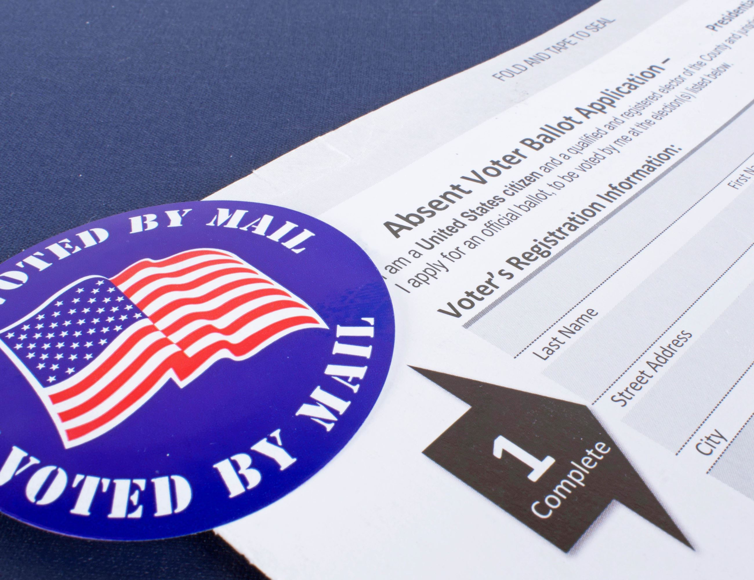 Vote by Mail application