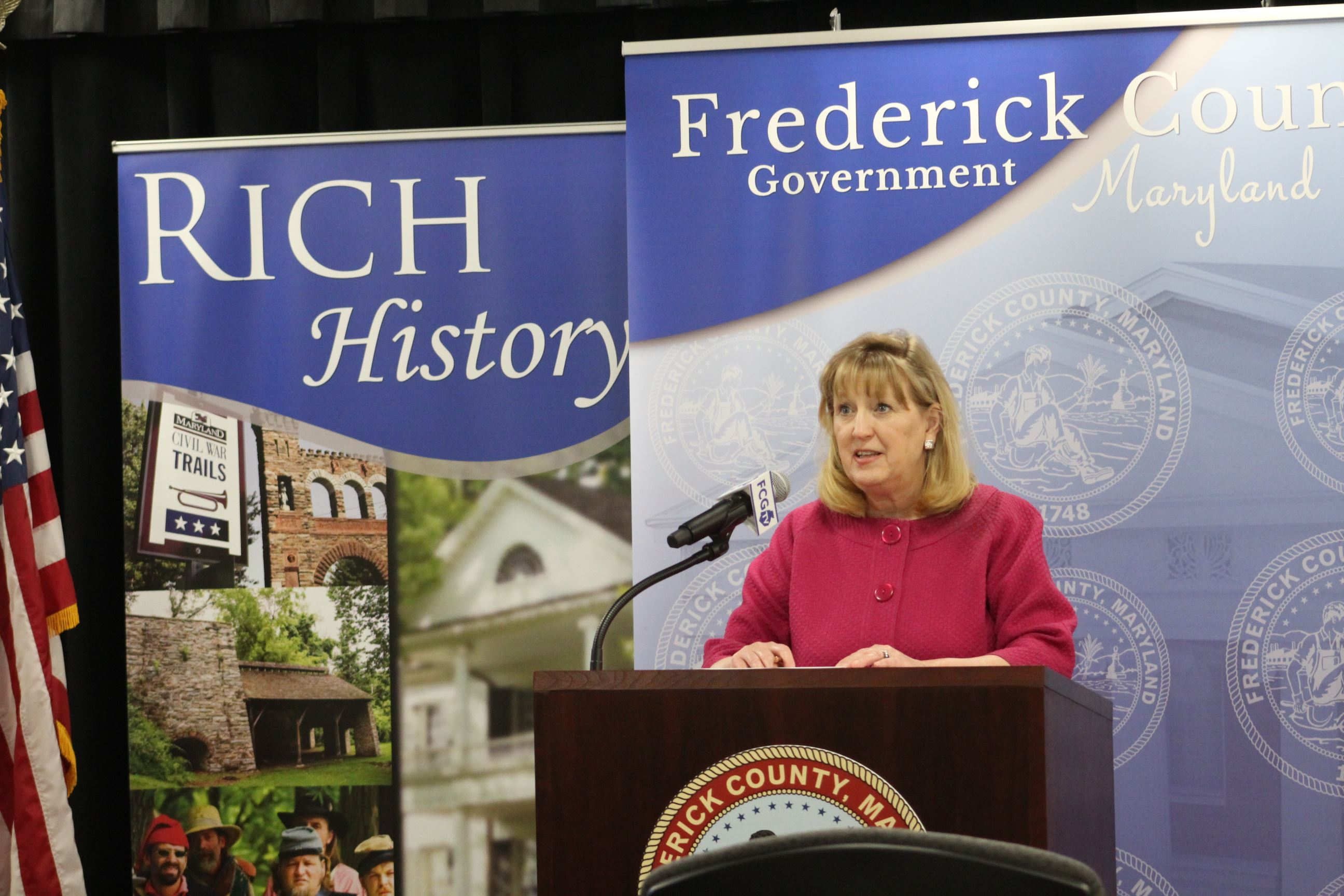 photo of Frederick County Executive Jan H. Gardner