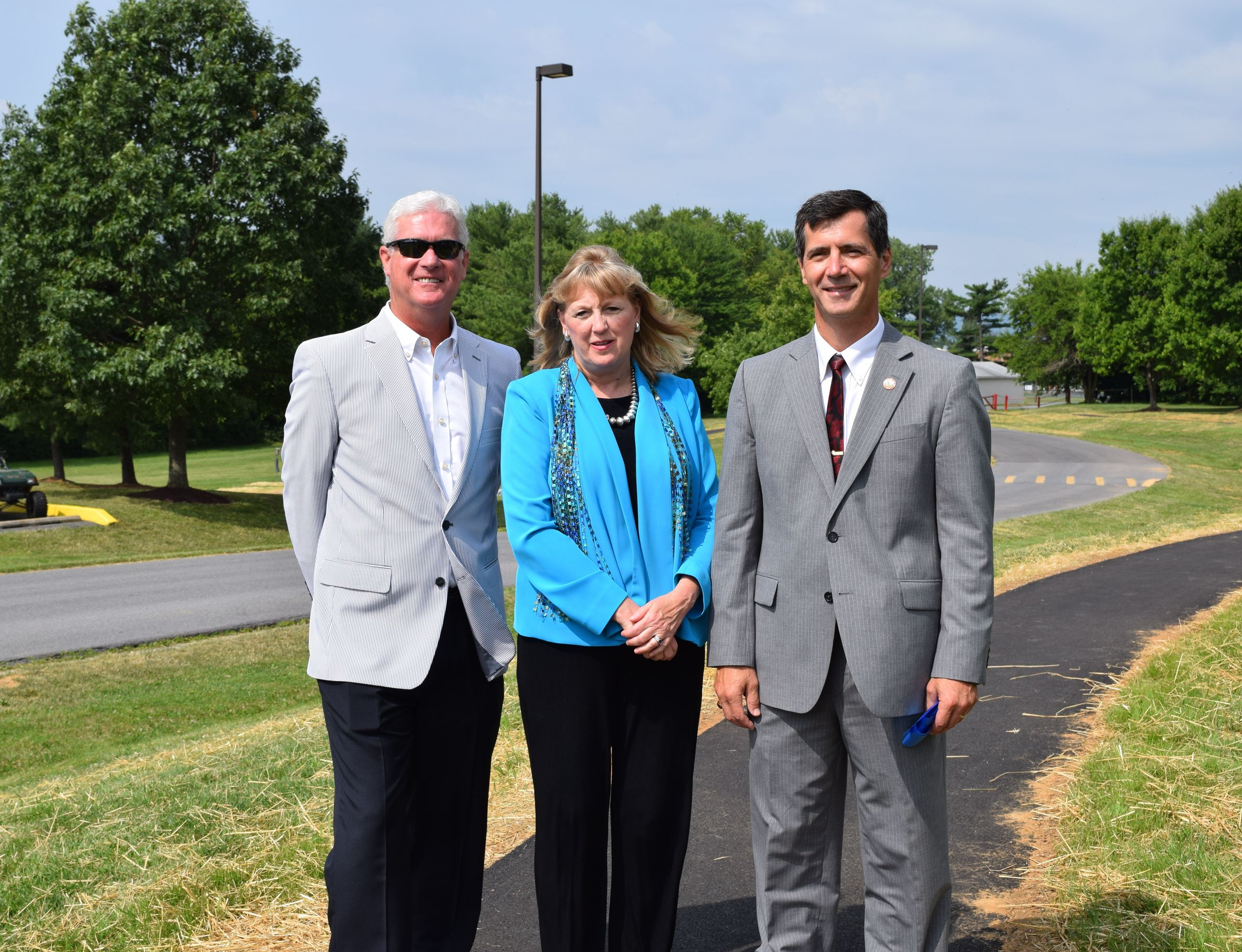 Burgess of Middletown, John Miller, County Executive, Jan Gardner, Council Member, Jerry Donald