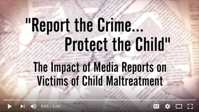 Report the Crime...Protect the Child